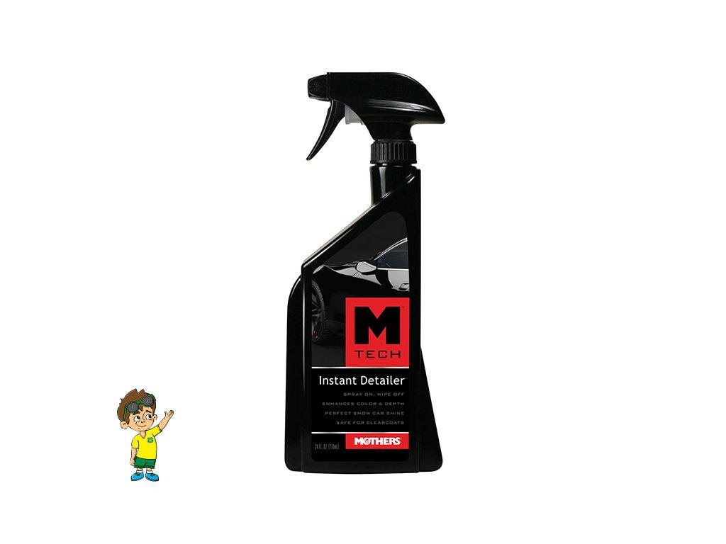 Přípravek pro rychlé odstranění lehkých nečistot, 710 ml, Mothers M-Tech Instant Detailer