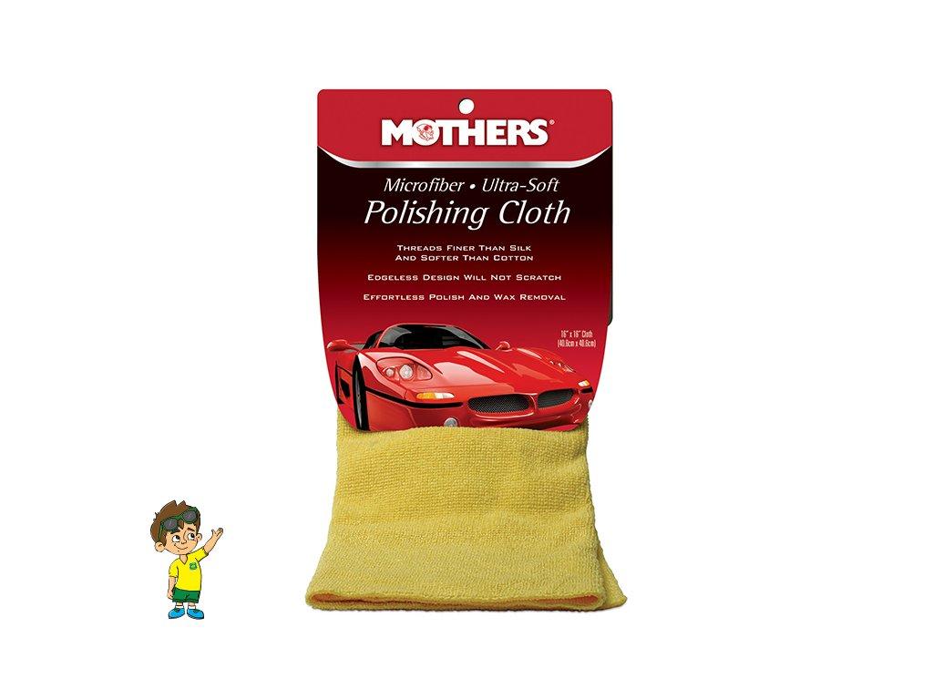Ultra jemná leštící utěrka, 40x40 cm, Mothers Microfiber Ultra-Soft Polishing Cloth
