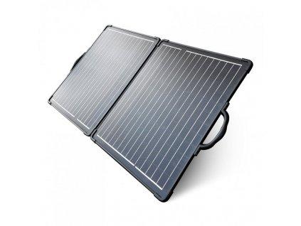 2x50 W monokrystalický skládací solární panel, www.vseprokaravan.cz
