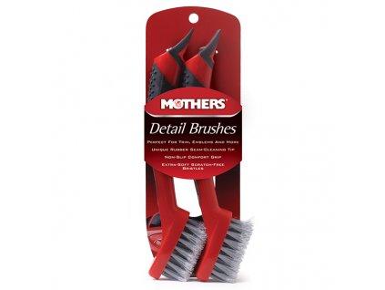 Detailingové kartáče pro špičkové detailery a perfekcionisty, 2 ks, Mothers Detail Brushes