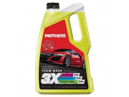 Autošampon, 2,95 l, Mothers Triple Action Foam Wash, www.vseprokaravan.cz