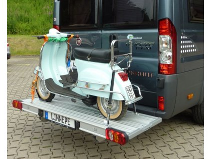 Nosič na skútr na dodávková vozidla,  Linnepe SlidePort pro Fiat Ducato od 07/2006 www.vseprokaravan.cz