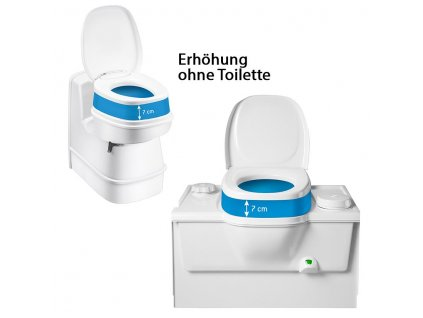 Zvýšení sedáku na toaletu, Thetford