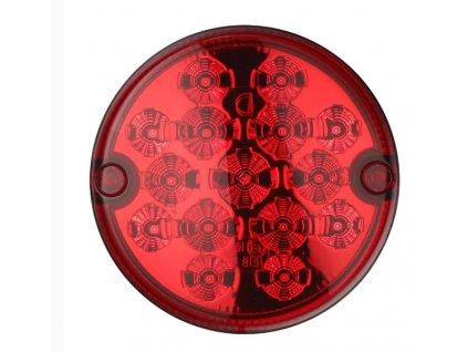 Zadní kulaté světlo červené - brzdové, www.vseprokaravan.cz