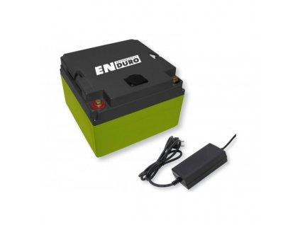 Lithiová baterie k pojezdům 20 AH LI1220, ENDURO, 91672, www.vseprokaravan.cz