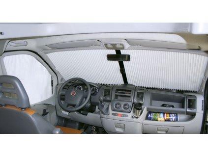 Okenní přední rolety Remis REMIfront IV pro Fiat Ducato - Plizované www.vseprokaravan.cz