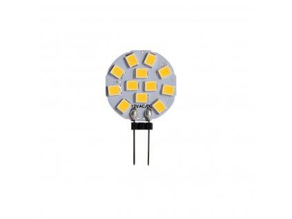 LED žárovka 1,2 W - 14 G4 4000K 120° kapslová, www.vseprokaravan.cz