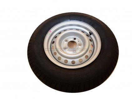 Plechový disk 5,5Jx14 a pneumatika 185/65 R14, komplet