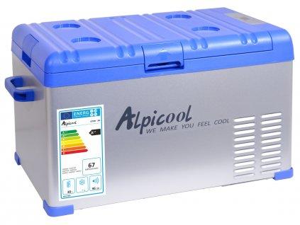 Chladící box kompresor 30l 230/24/12V -20°C BLUE, Alpicool, www.vseprokaravan.cz