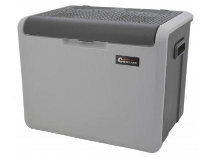 Chladící box 40litrů TAMPERE 230/12V pojízdný, www.vseprokaravan.cz