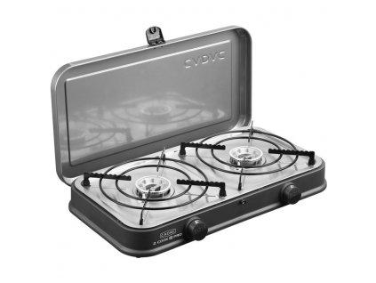 Plynový vařič CADAC 2-Cook Pro www.vseprokaravan.cz