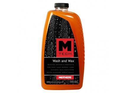 Autošampon s voskem, Mothers M-Tech Wash&Wax, 1,42 l