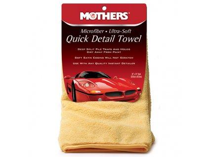 Ultrajemný detailingový ručník, 50x60 cm, Mothers Microfiber Ultra-Soft Quick Detail Towel