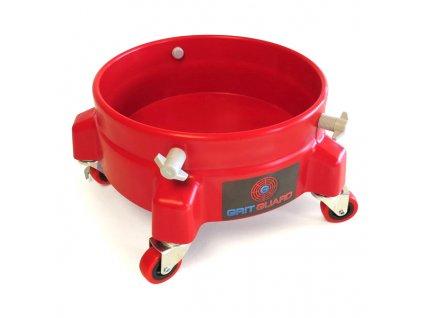 Pojízdná podložka (základna) pro kbelík, Grit Guard Bucket Dolly, www.vseprokaravan.cz