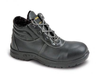 DEMAR Zimní pracovní obuv GLOSS UP 2 L WINTER S3 CI SRC 7335 černá