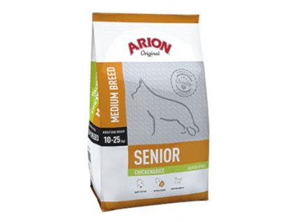 141716 arion dog original senior chicken rice 3kg