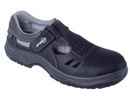 Bezpečnostní sandál PRABOS RICHARD S1, s ocelovou špicí