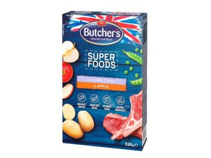 123602 butcher s dog superfoods gf jehne jablko 320g