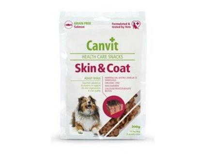 132836 canvit snacks skin coat 200g