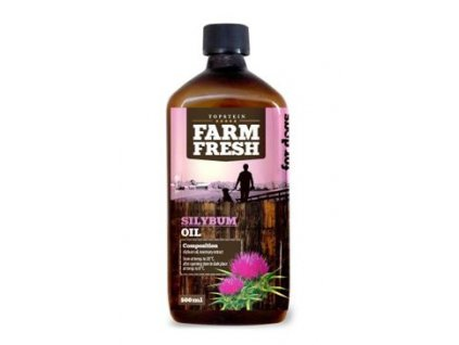 116735 farm fresh ostropestrecovy olej silybum oil 500 ml