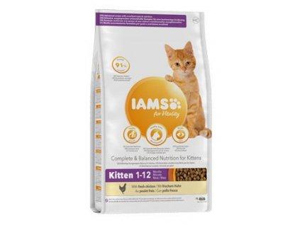 126299 iams cat kitten chicken 10kg