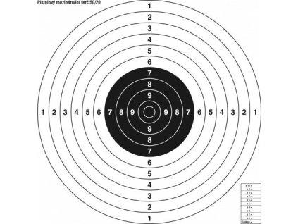13507 terc mezinarodni pistolovy 50 20
