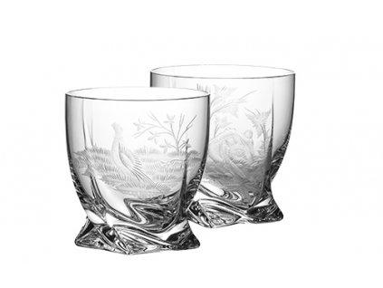 75003 02 2 sada 6x sklenice whisky quatro 280ml