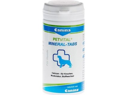 215290 canina petvital mineral tabs 1000g 500tbl