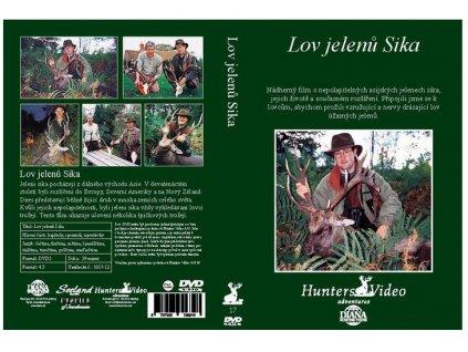DVD lov jelenů sika