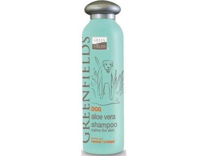219781 greenfields sampon dog aloa vera shampoo 250 ml