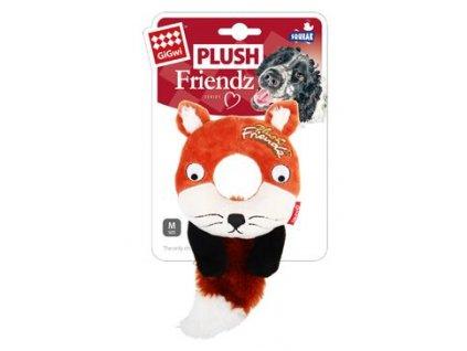 122132 hracka pes gigwi plush friendz liska s gumovym krouz