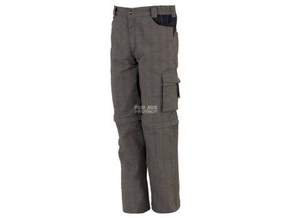 Outdoor káro kalhoty a kraťase ZIP VERDE v jednom XXXL (Velikost M)