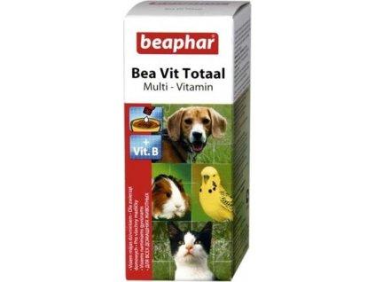 219607 beaphar vit total vitaminove kapky pes kocka 50ml