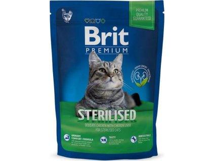218860 brit premium cat sterilised 1 5kg new