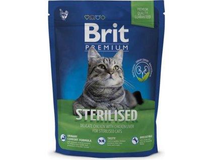 218857 brit premium cat sterilised 800g new