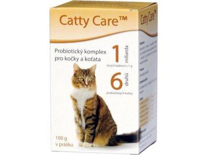 217966 catty care probiotika pro kocky a kotata plv 100g