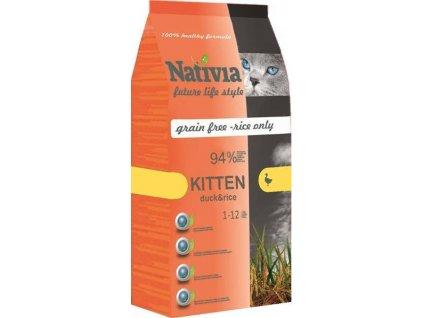 218089 nativia cat kitten 10kg