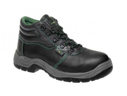Bezpečnostní kotníková obuv ADAMANT S1P s ocelovou špicí a planžetou 48 (Velikost 36)