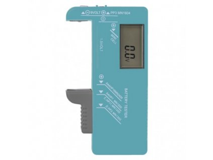 210349 univerzalni tester baterii aa aaa c d 9v knoflikovych