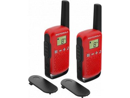 Motorola TLKR T42, červená
