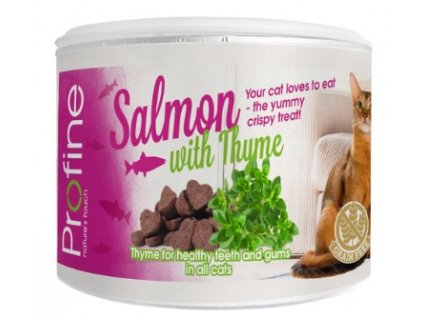7041 profine cat crunchy snack salmon thyme 50g