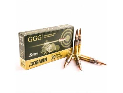 57249 naboj kulovy ggg matchking 308 win 168gr sierra matchking hpbt