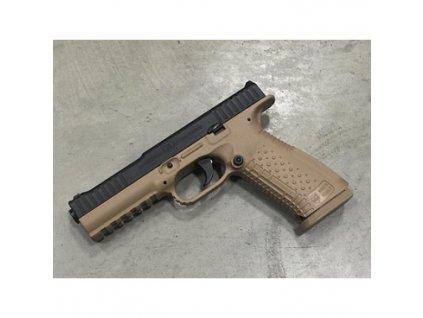 60999 pistole samonab arsenal firearms mod strike one raze 9mm luger 17 1 tan black