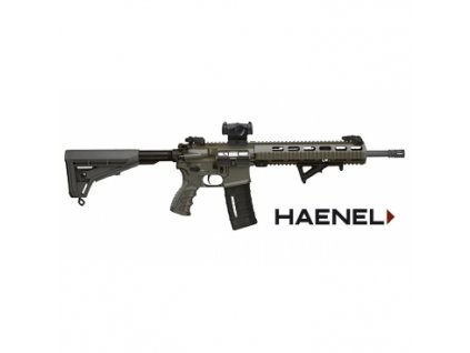 61092 puska samonab haenel mod cr223 raze 223 rem hl 14 5 match spoust olive green
