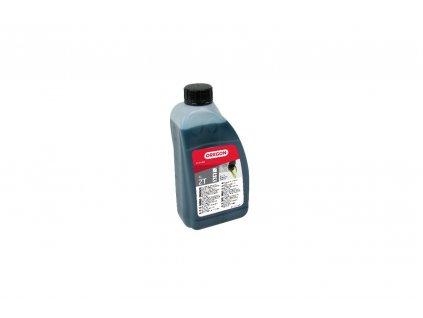 Olej polosyntetický 2takt. 1l - zelený