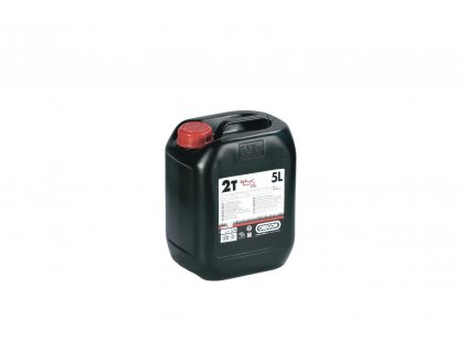 Olej polosyntetický 2takt. 5l - zelený