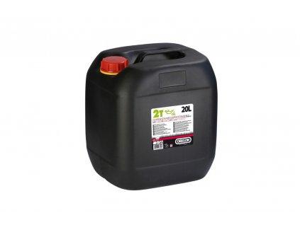 Olej polosyntetický 2takt. 20l - zelený
