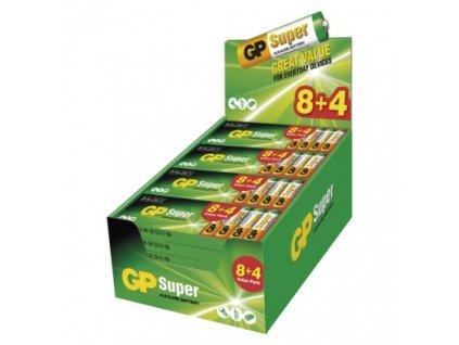 210454 alkalicka baterie gp super aa lr6