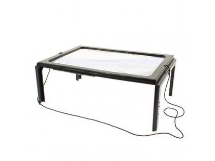 Viewlux stolní čtecí lupa 23,6mm x 16,7mm LED