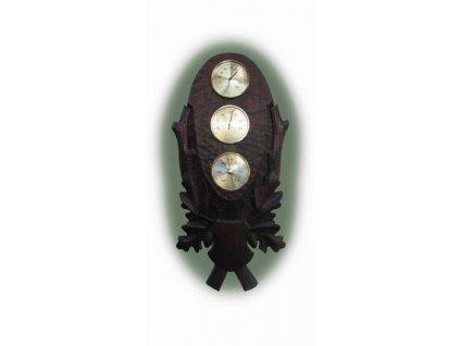 Barometr na podložce 207 (Barva černá)